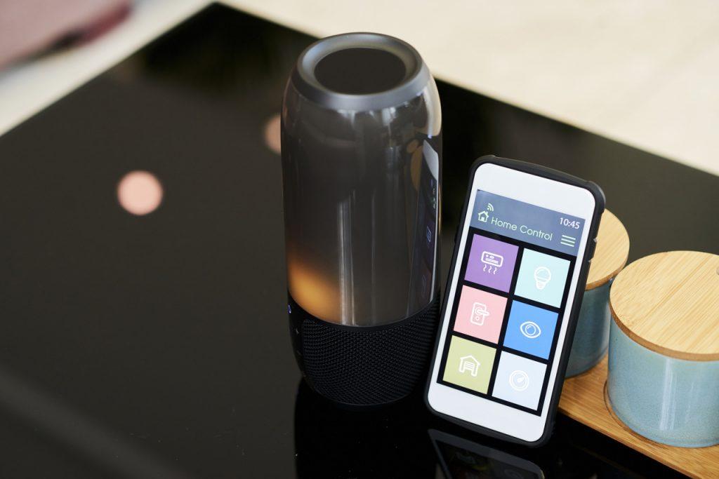 głośnik sterowany smartfonem