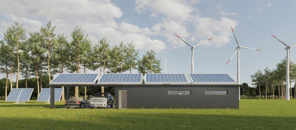 solary na dachu