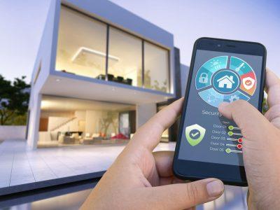 dom inteligentny aplikacja w telefonie