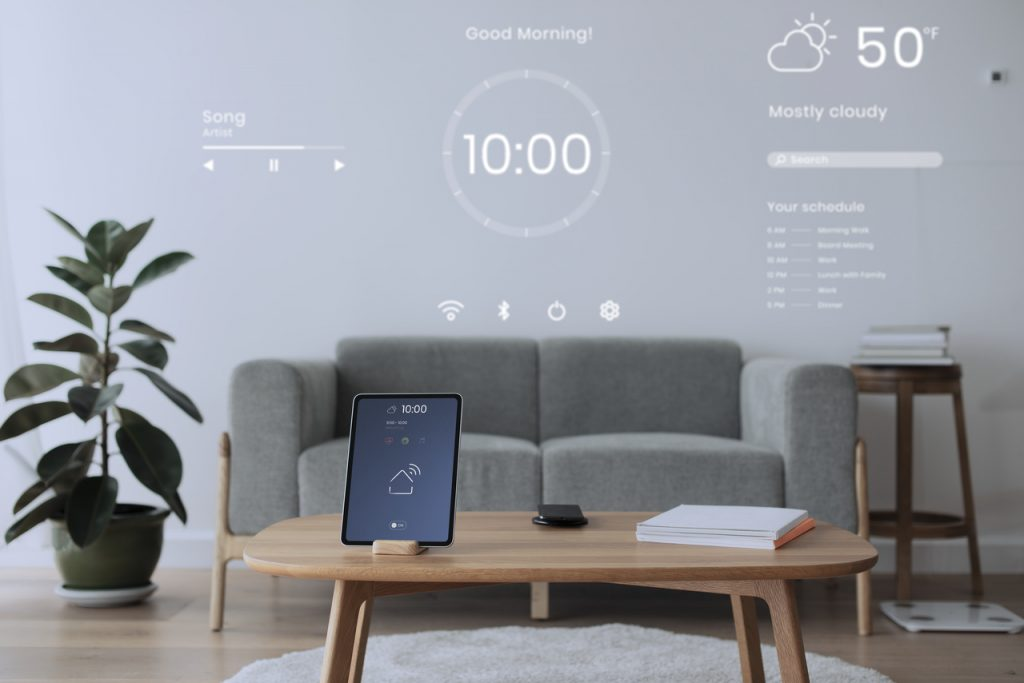 tablet w smart home