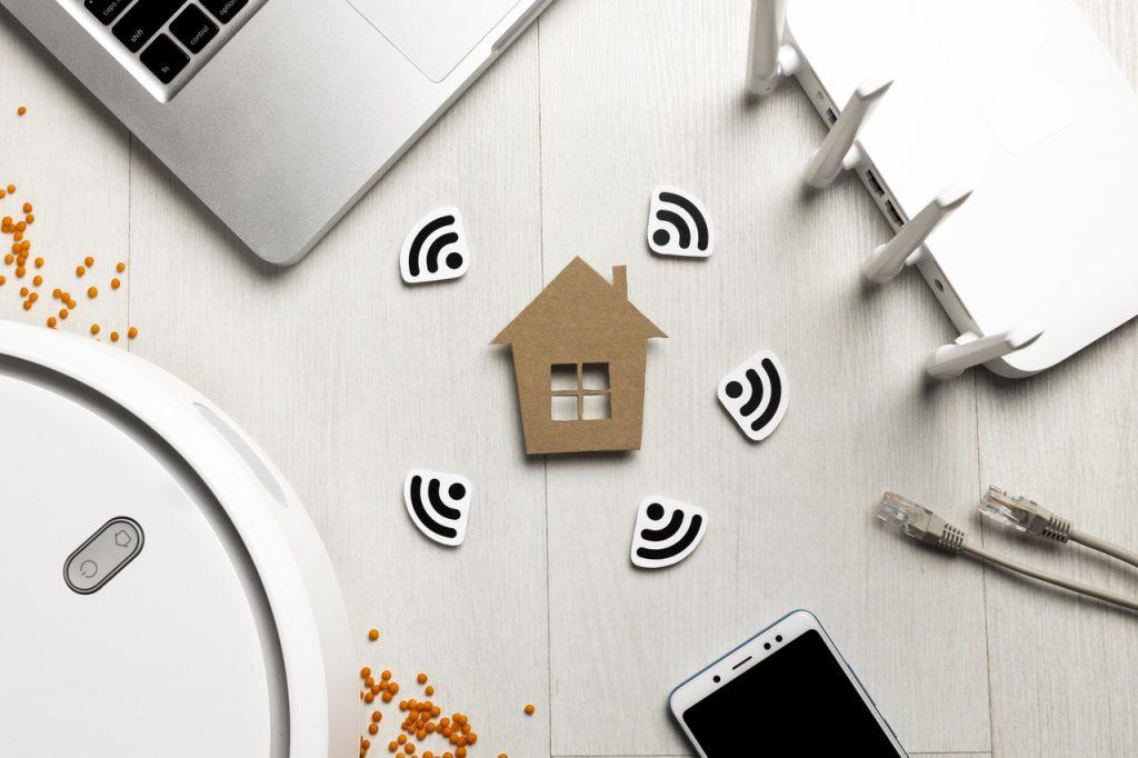 grafika wifi 5G w domu